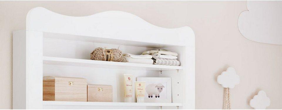 pinolino regalaufsatz f r wickelkommode florentina breit. Black Bedroom Furniture Sets. Home Design Ideas