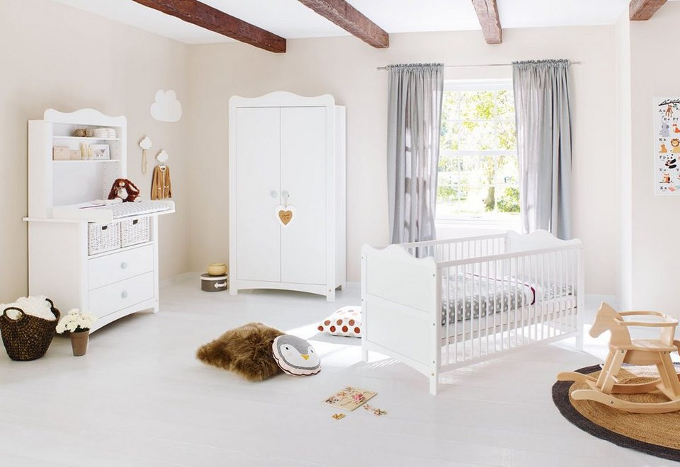 pinolino babyzimmer set 4 tlg kinderzimmer florentina. Black Bedroom Furniture Sets. Home Design Ideas