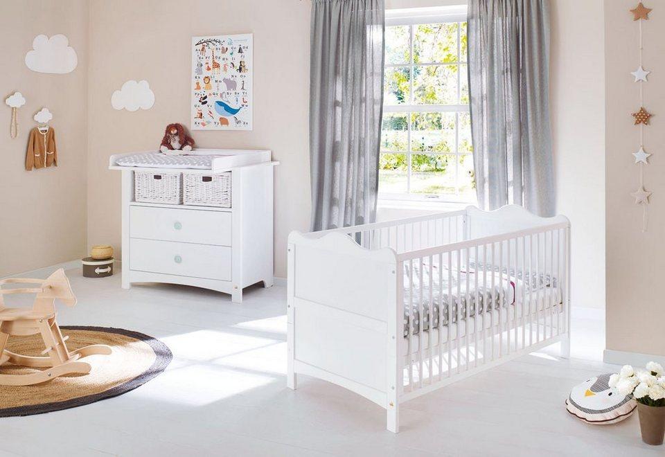 pinolino babyzimmer set (2-tlg) sparset »florentina« breit online