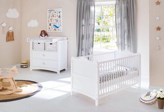 Pinolino® Babymöbel-Set »Florentina«, (Spar-Set, 2-tlg), breit