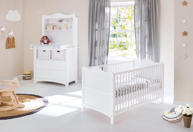 Pinolino Babyzimmer Set (3-tlg) Sparset »Florentina« breit, inkl. Regalaufsatz