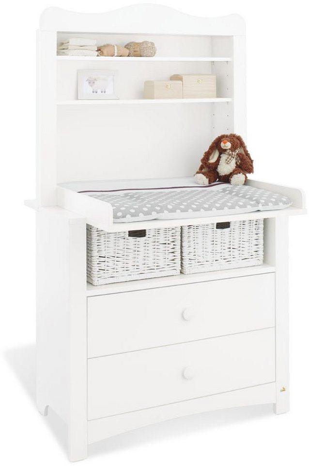 pinolino wickelkommode mit regalaufsatz florentina breit online kaufen otto. Black Bedroom Furniture Sets. Home Design Ideas