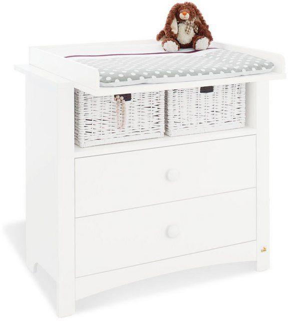 Babyzimmer - Pinolino® Babyzimmer Komplettset »Florentina«, (Set, 3 tlg), breit  - Onlineshop OTTO