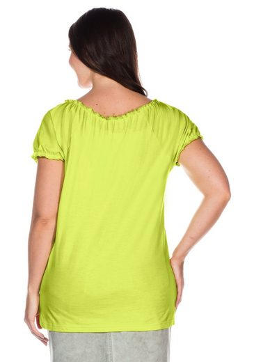 sheego Casual T-Shirt, mit floralem Druck