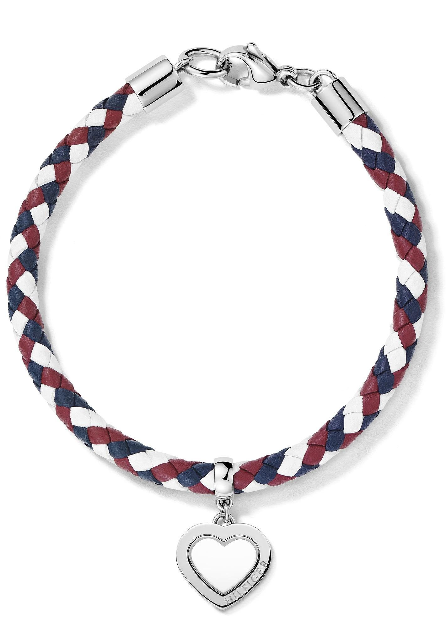 Tommy Hilfiger Armband »Herz, Classic Signature, 2700901«