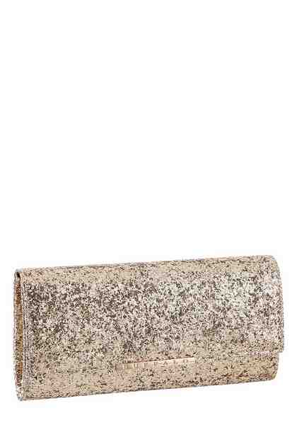 Buffalo Clutch, mit Glitzerdruck