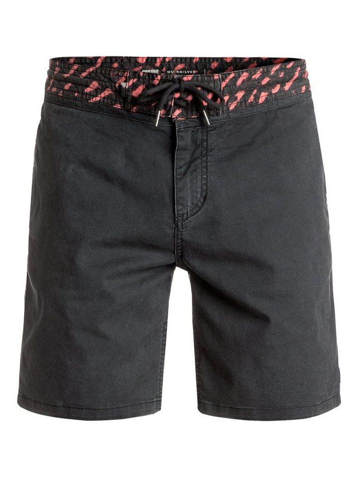 Herren Quiksilver Street Shorts Street Slasher – Street Shorts schwarz   03613372502354