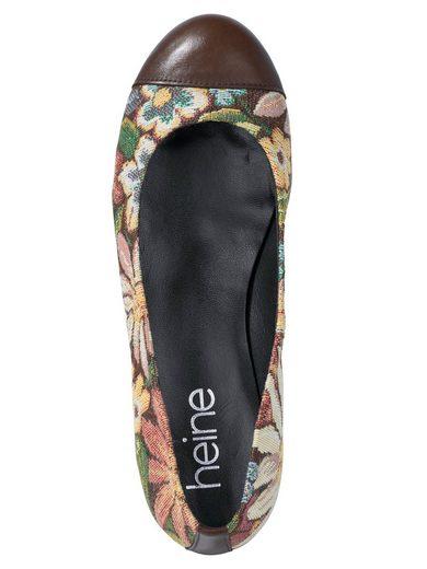 Heine Ballerina im Floral-Dessin