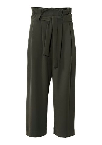 STYLE брюки кюлоты с пояс
