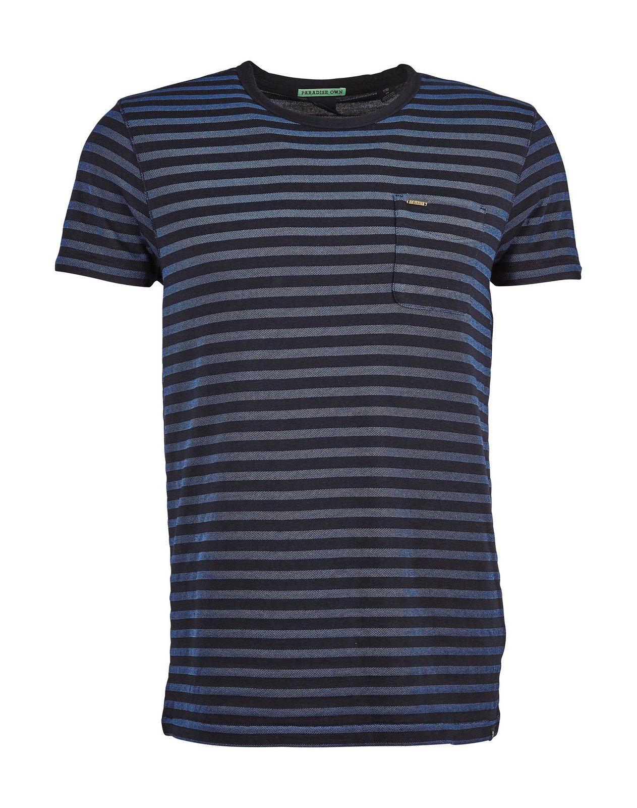 Scotch & Soda T-Shirt »Pique mit feinem Streifen« - broschei