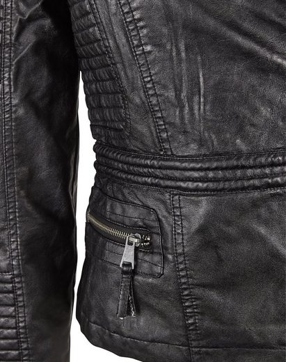 Fritzi Of Prussia Outdoor Jacket Biker Quilted Jacket