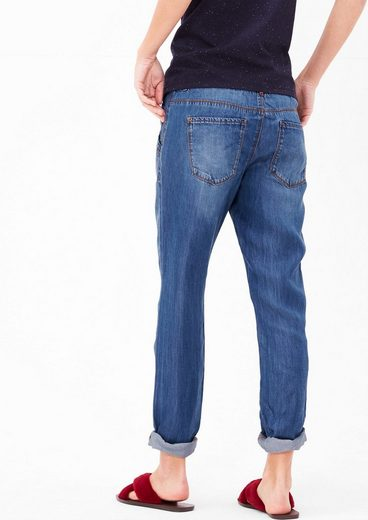 s.Oliver RED LABEL Smart Chino: Leichte Lyocell-Denim
