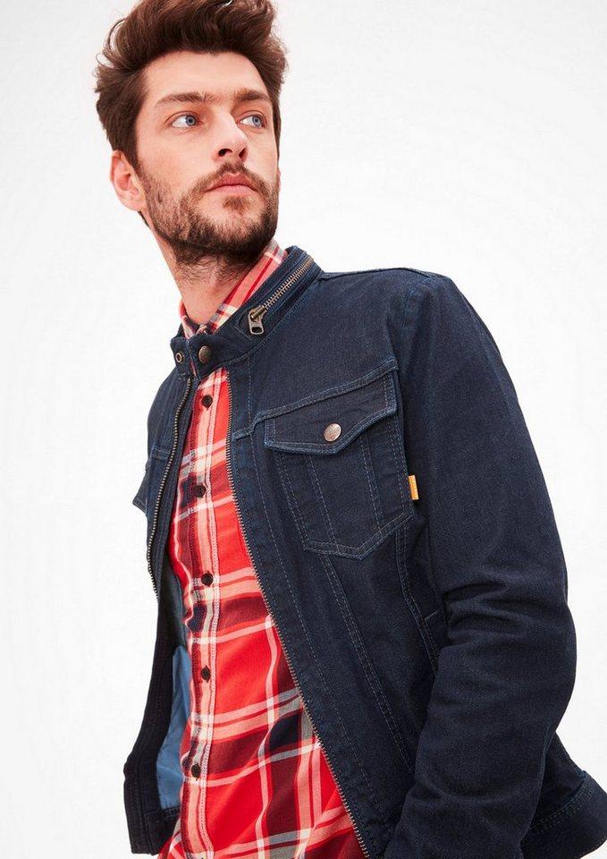 erster Blick bekannte Marke klare Textur Jeansjacke für Herren » Inspiration für deinen Look   OTTO