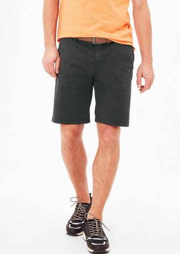 s.Oliver RED LABEL Plek Loose: Shorts mit Gürtel