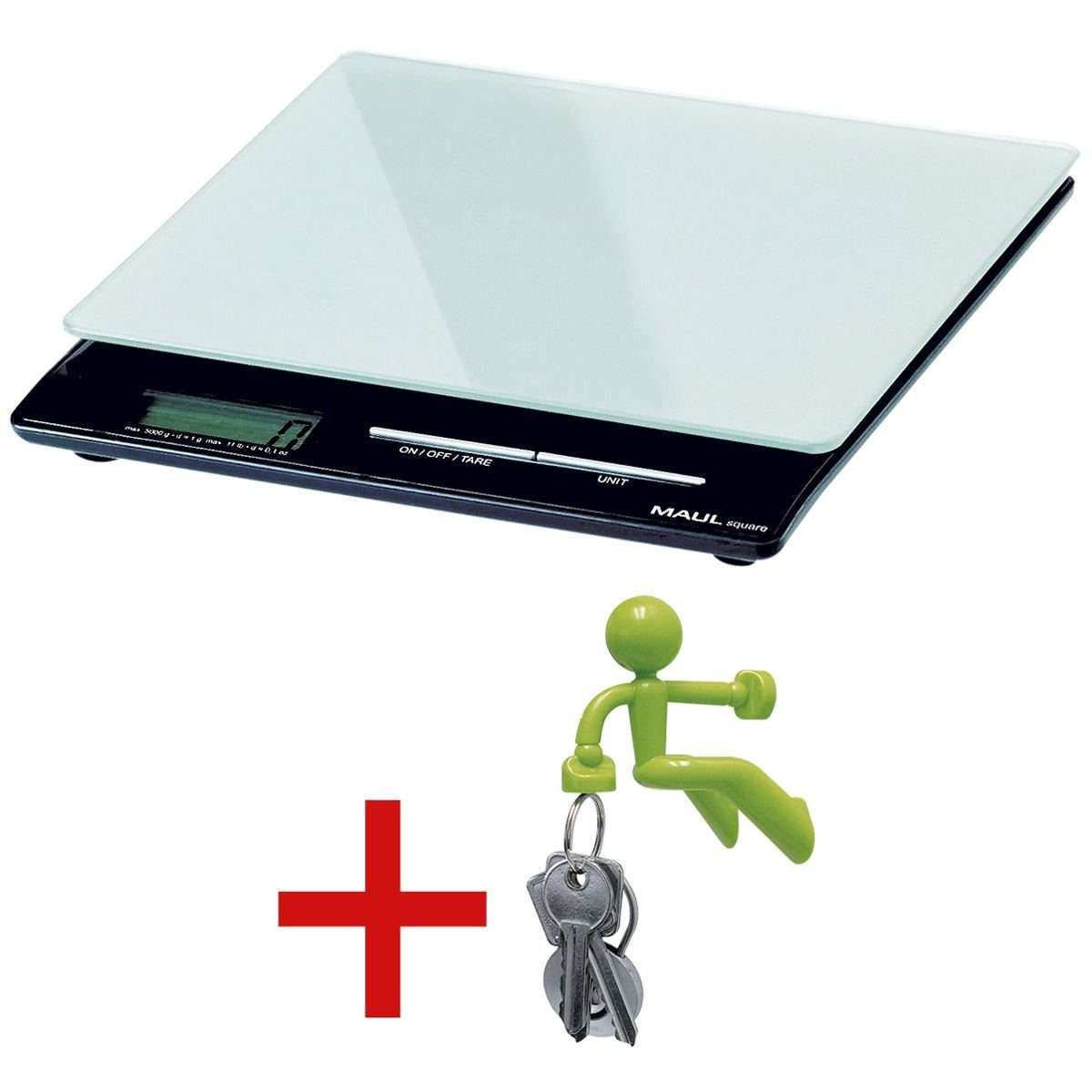 Maul Office Briefwaage »square« inkl. Magnet »Neodym-Magne... 1 Set