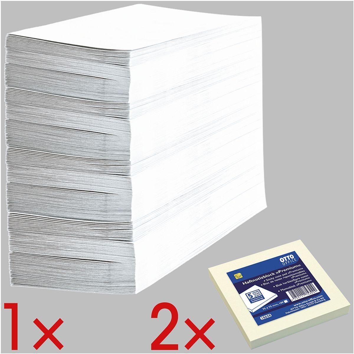OTTO Office Standard Briefumschläge inkl. 2 Haftnotizblöcke 1 Set