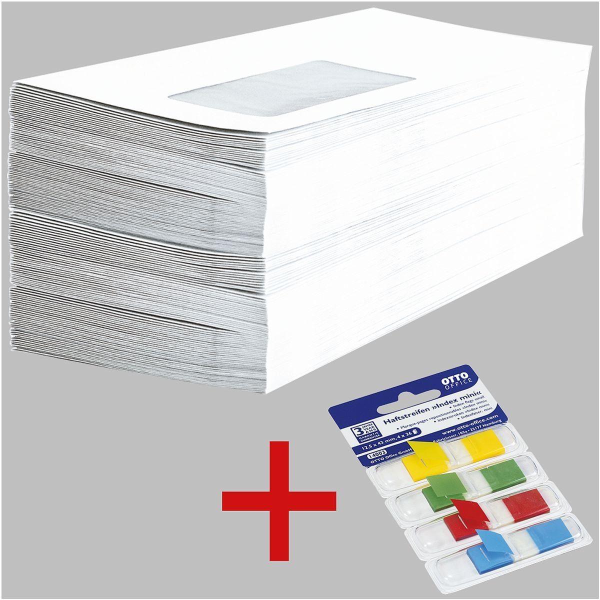 Briefumschläge inkl. Haftstreifen »Mini« 1 Set