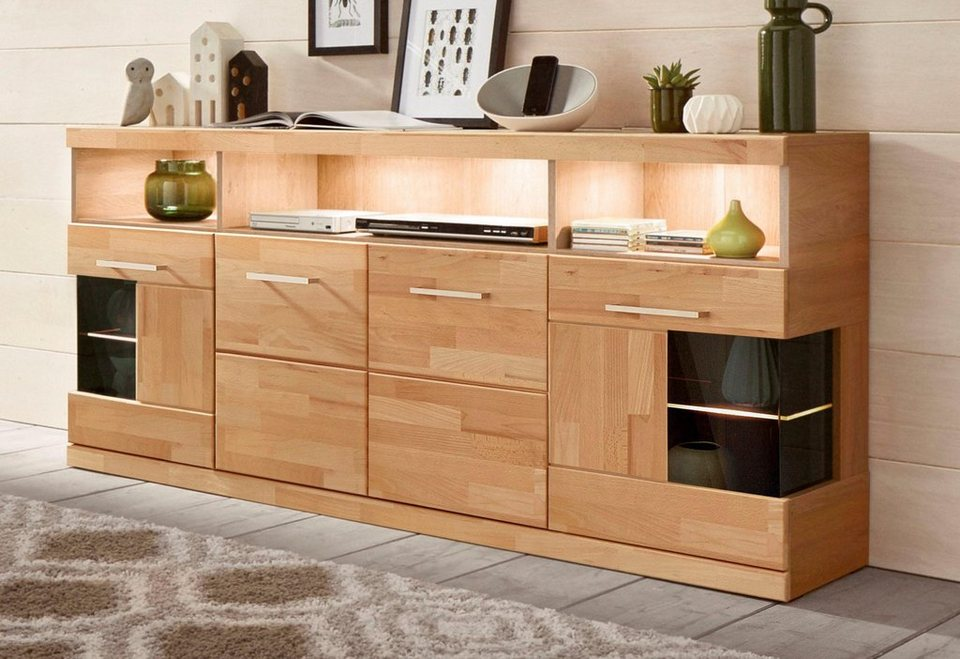 sideboard breite 180 cm 4 t ren online kaufen otto. Black Bedroom Furniture Sets. Home Design Ideas