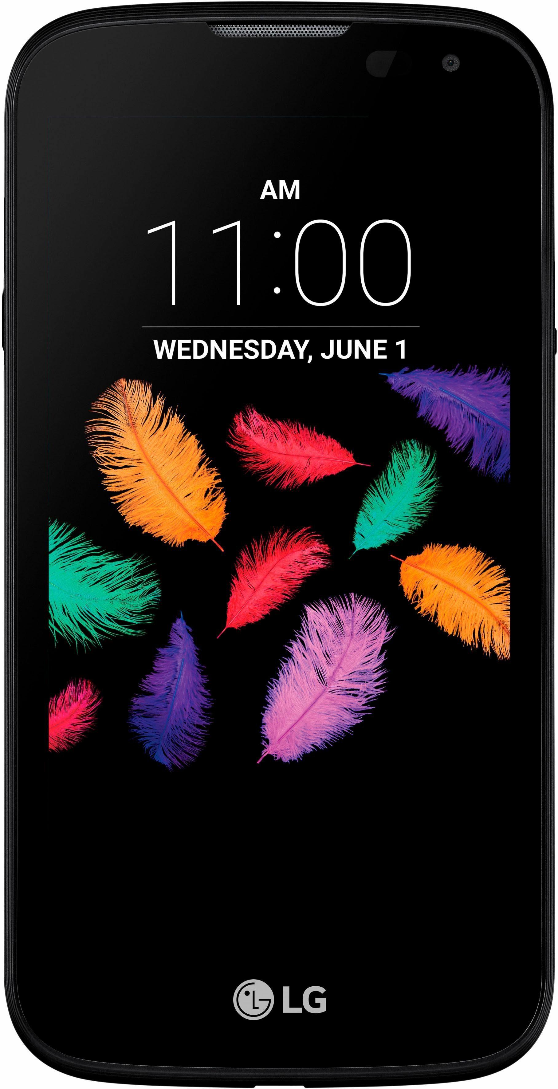 LG K3 - Dual SIM Smartphone, 11 cm (4,5 Zoll) Display, LTE (4G), 5,0 Megapixel, NFC