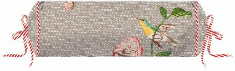Nackenrolle, PiP Studio, »Pip Poppy«, mit Vogel & Blume