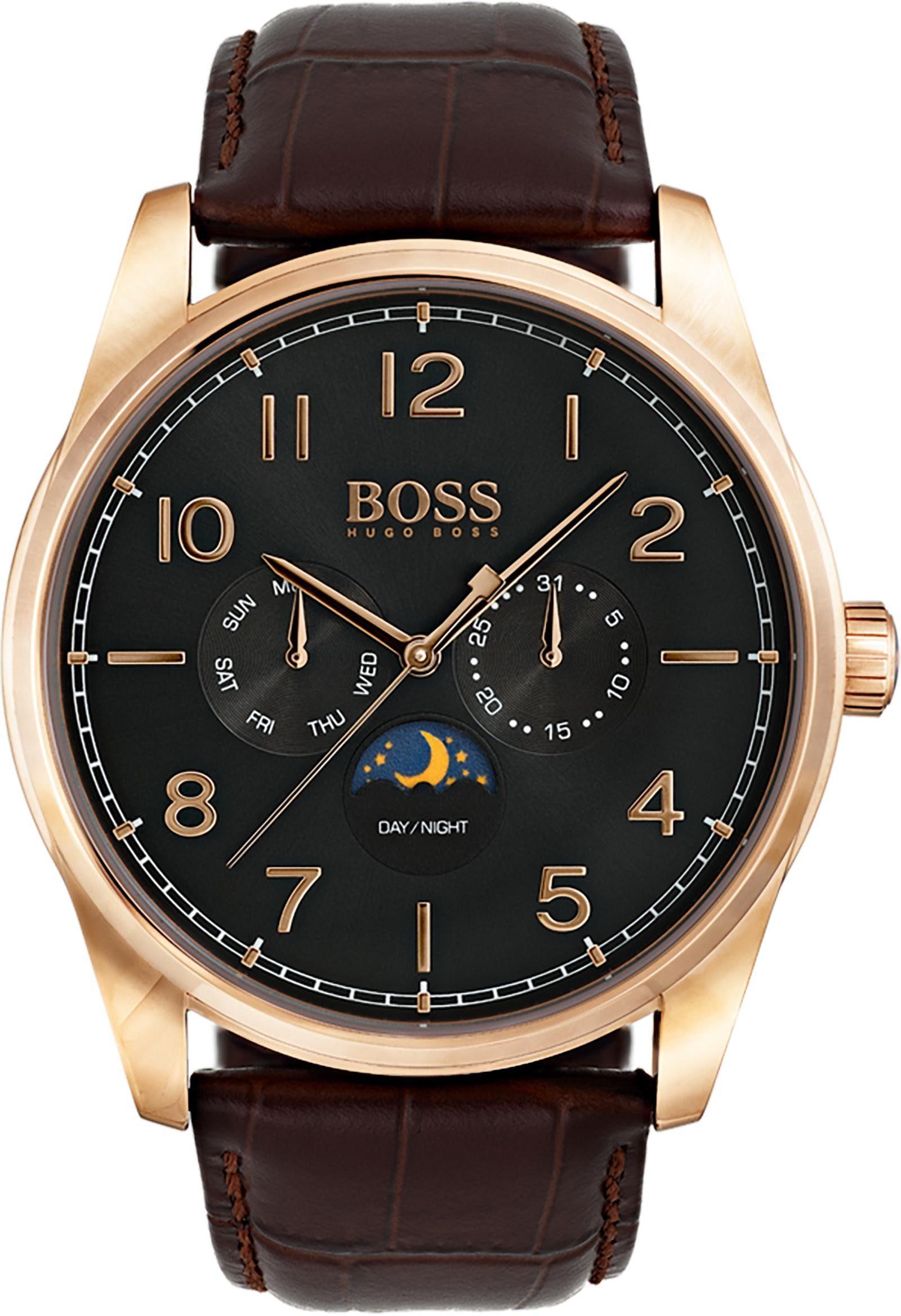 Boss Multifunktionsuhr »HERITAGE CLASSIC, 1513468«