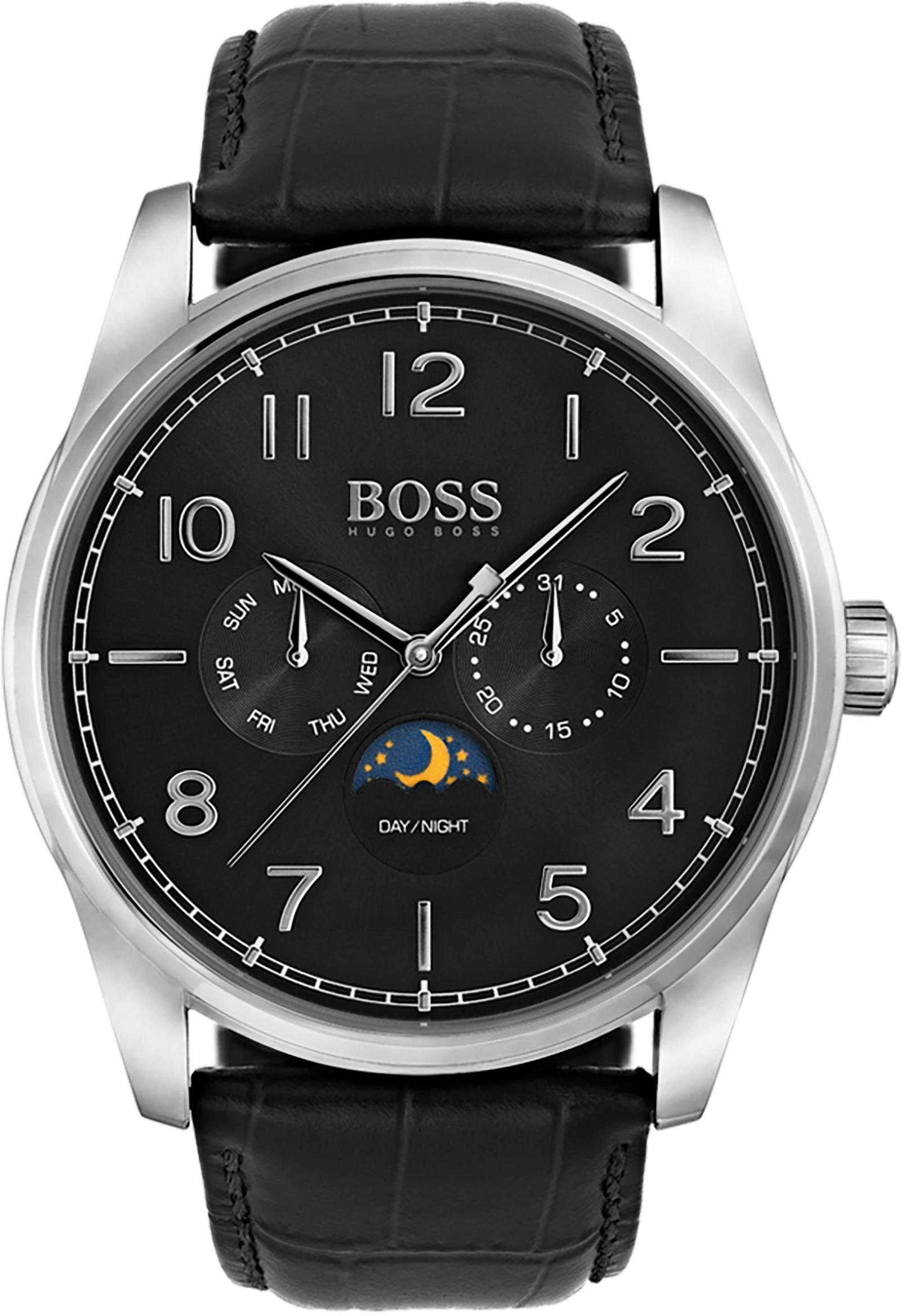 Boss Multifunktionsuhr »HERITAGE CLASSIC, 1513467«
