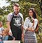 MoonWorks Grillschürze »Bundesgrillminister Grill-Schürze für Männer mit Spruch Moonworks®«, mit kreativem Aufdruck, Bild 3