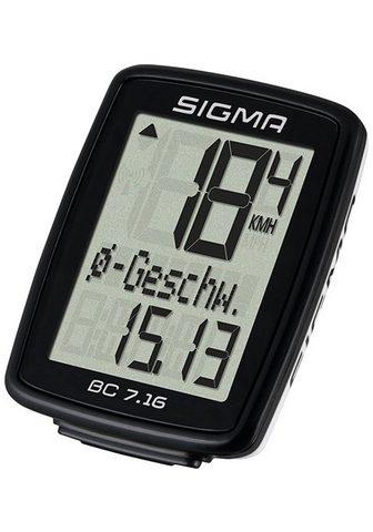 SIGMA SPORT Dviračio kompiuteris »BC 7.16«