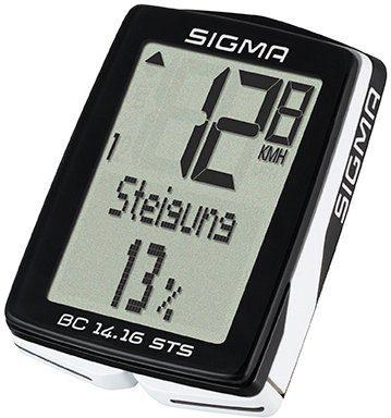 Sigma Sport Fahrradcomputer schwarz, »BC 14.16 STS«