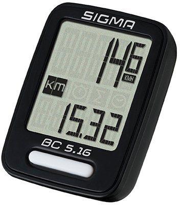 Sigma Sport Fahrradcomputer schwarz, »BC 5.16«
