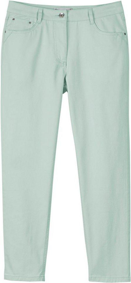 Collection L. 7/8-Hose in 5-Pocket-Form | Bekleidung > Hosen > 7/8-Hosen | Grün | Collection L.