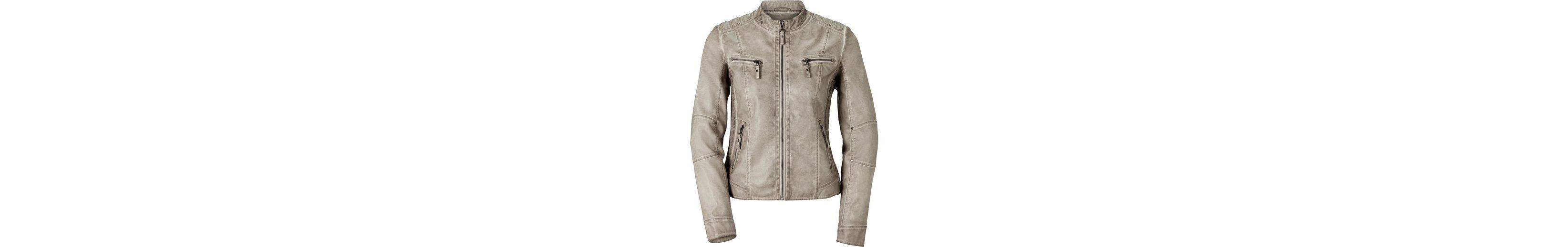 Großhandelspreis Günstig Online Billig 2018 Neueste Mainpol Jacke im Biker-Stil mRZZ3