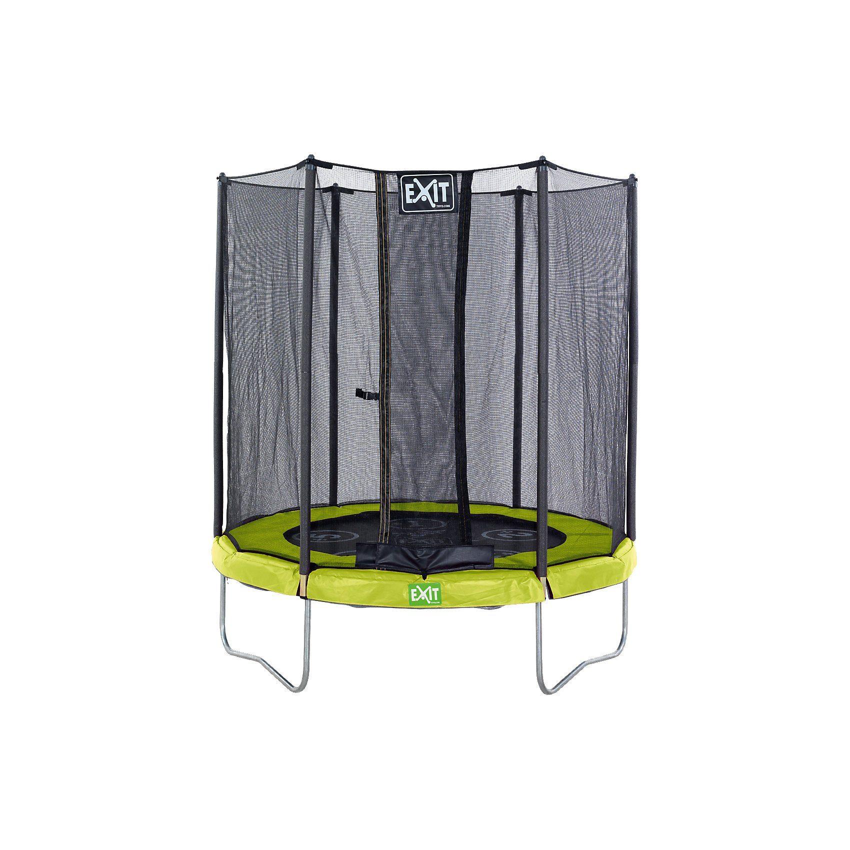 EXIT Twist Trampolin 244 cm, grün grau