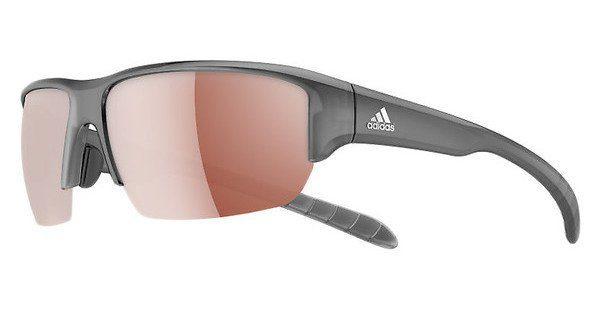 adidas Performance Adidas Performance Sonnenbrille »Kumacross Halfrim A421«, weiß, 6054 - weiß/braun
