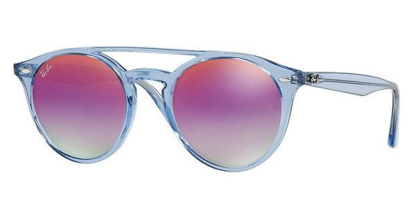 RAY BAN RAY-BAN Damen Sonnenbrille » RB4279«, blau, 6278A9 - blau/lila
