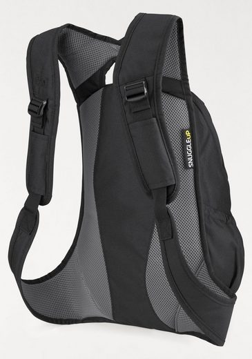 Jack Wolfskin City Rucksack Ancona, Lies Flat On The Body