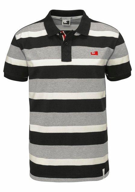 Ocean Sportswear Poloshirt | Sportbekleidung > Sportshirts > Poloshirts | Schwarz | Baumwolle | Ocean Sportswear