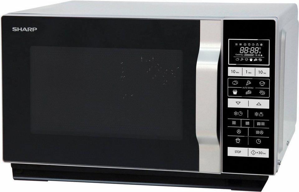 sharp mikrowelle r860s mit grill und hei luft 25 liter online kaufen otto. Black Bedroom Furniture Sets. Home Design Ideas