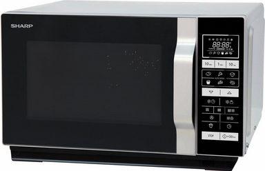 sharp mikrowelle r860s mikrowelle grill hei luft 900 w. Black Bedroom Furniture Sets. Home Design Ideas