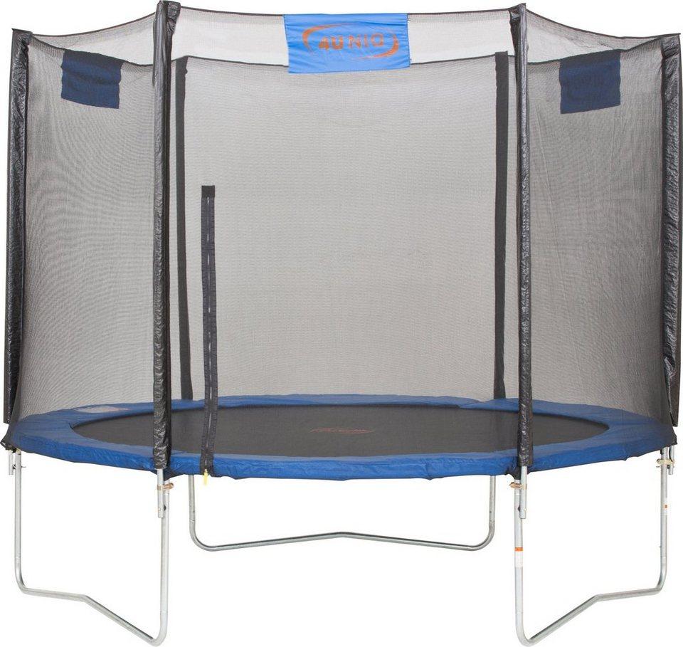 4uniq trampolin 244 cm online kaufen otto. Black Bedroom Furniture Sets. Home Design Ideas