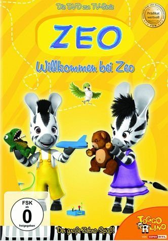 DVD »Zeo - Willkommen bei Zeo (mit Kühlschrankmagnet)«