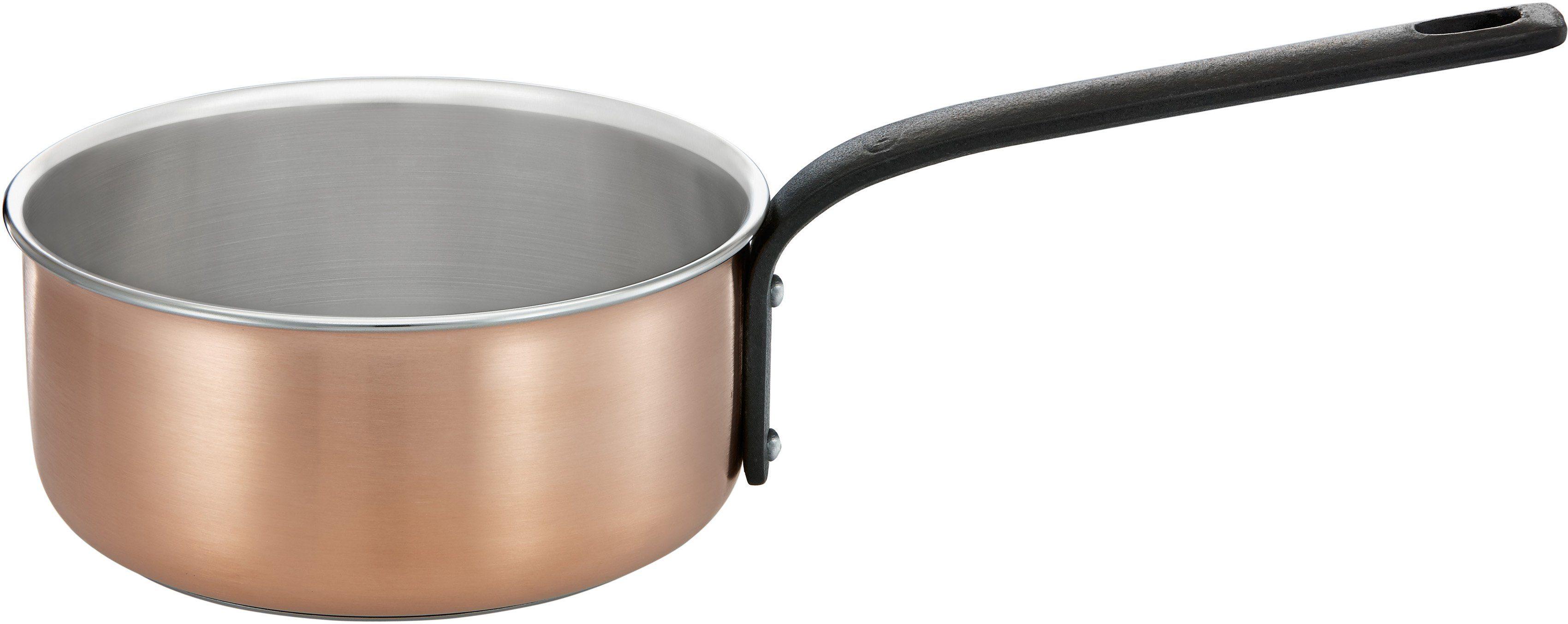 RÖSLE Stielkasserolle, Edelstahl/Aluminium, Kupfer, Induktion, 16 cm, »CHALET«