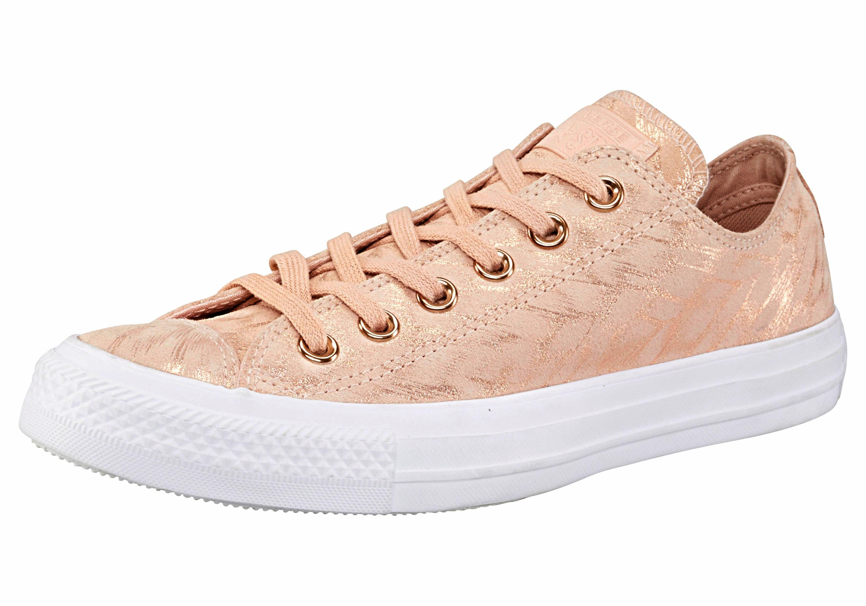Converse Chuck Taylor All Star Ox Sneaker, Shimmer Suede online kaufen  roségoldfarben