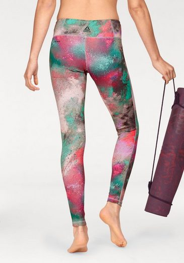 Reebok Leggings LUX BOLD TIGHT-CHALKED