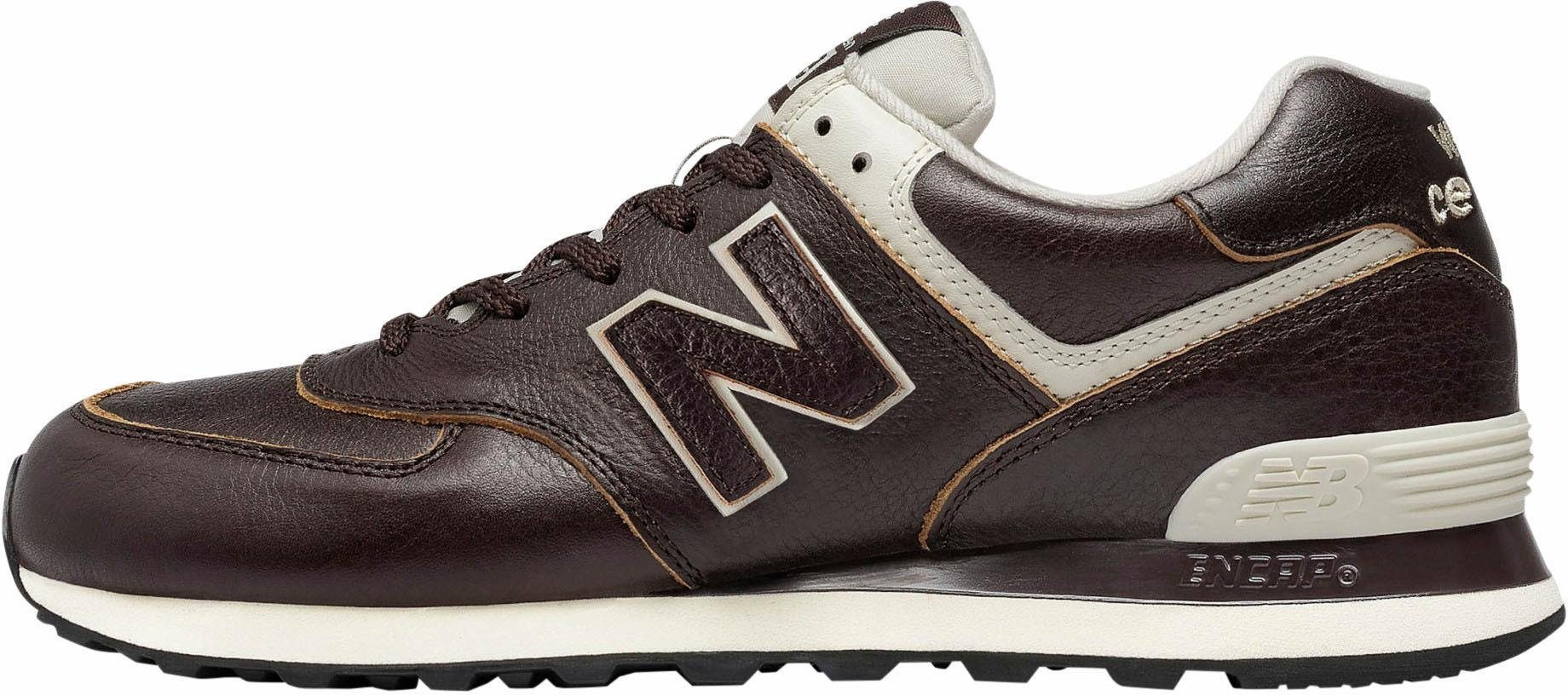 New Balance online ML 574 Leather Sneaker online Balance kaufen  braun 96e858