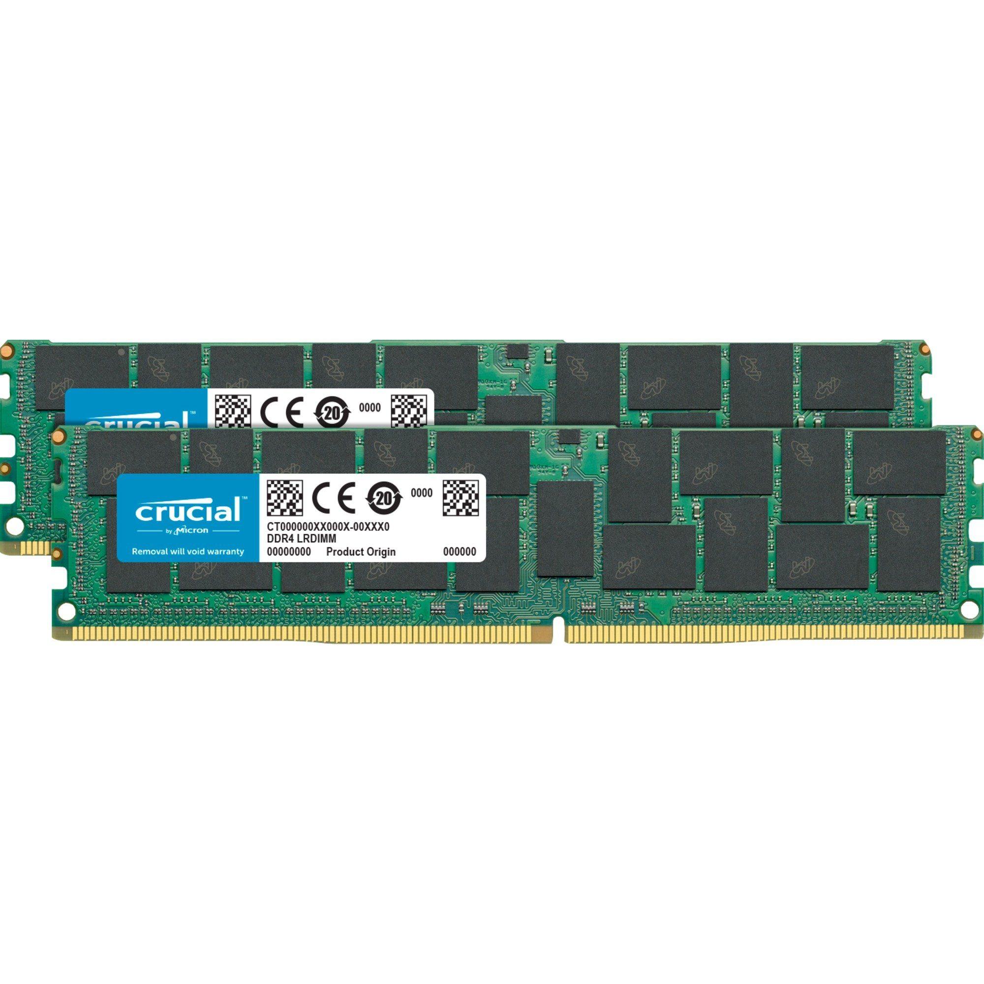 Crucial Arbeitsspeicher »DIMM 32 GB ECC Registered DDR4-2133 Kit«