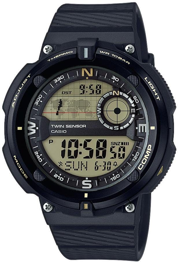 Casio Collection Chronograph »SGW-600H-9AER«, mit Thermometer