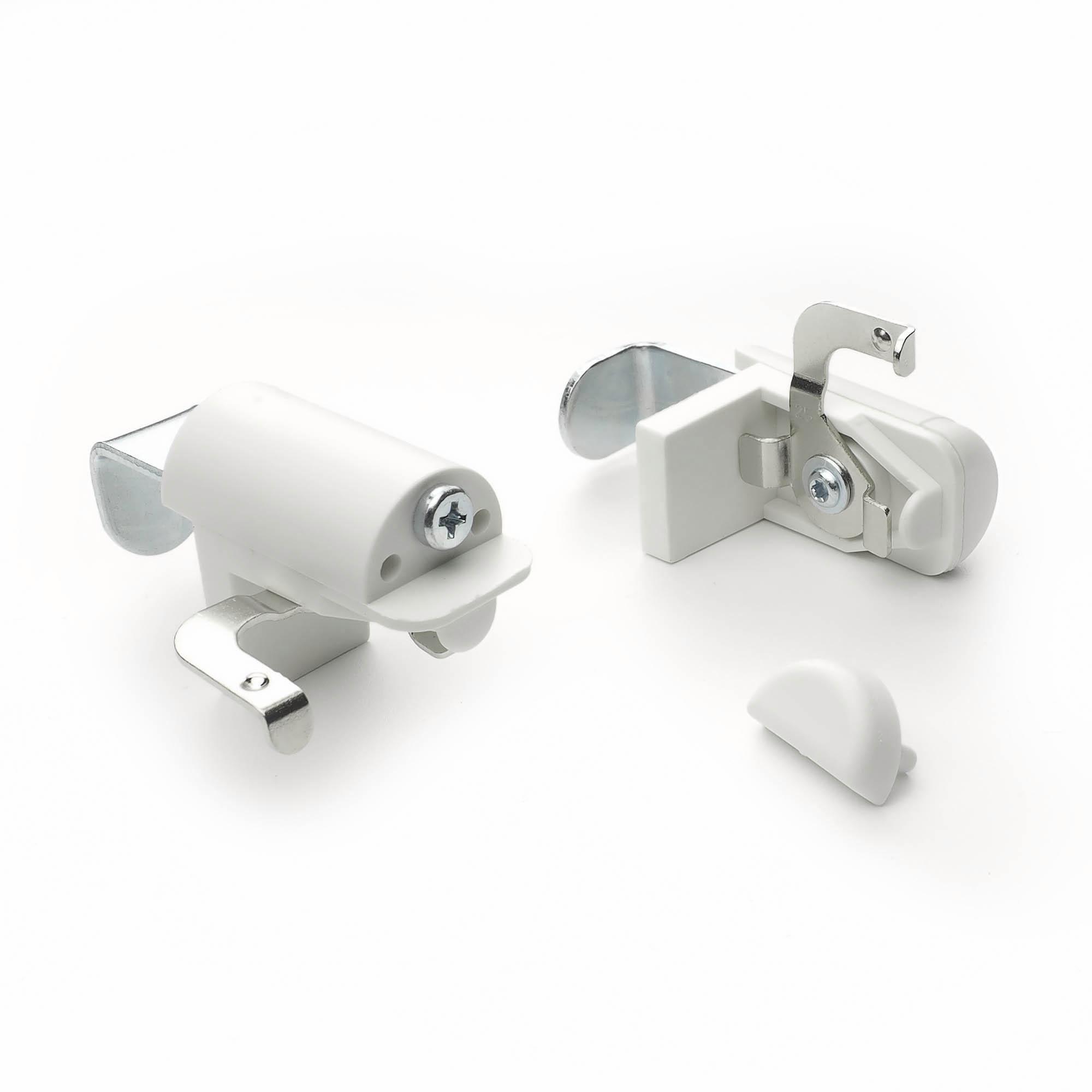 Klemmträger, Liedeco, Jalousien, (Set, 2-tlg), Blindfix für Aluminium-Jalousien