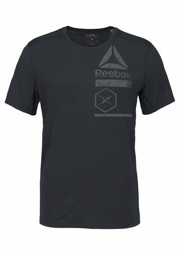 Reebok Funktionsshirt ACTIVCHILL ZONED GRAPHIC TEE
