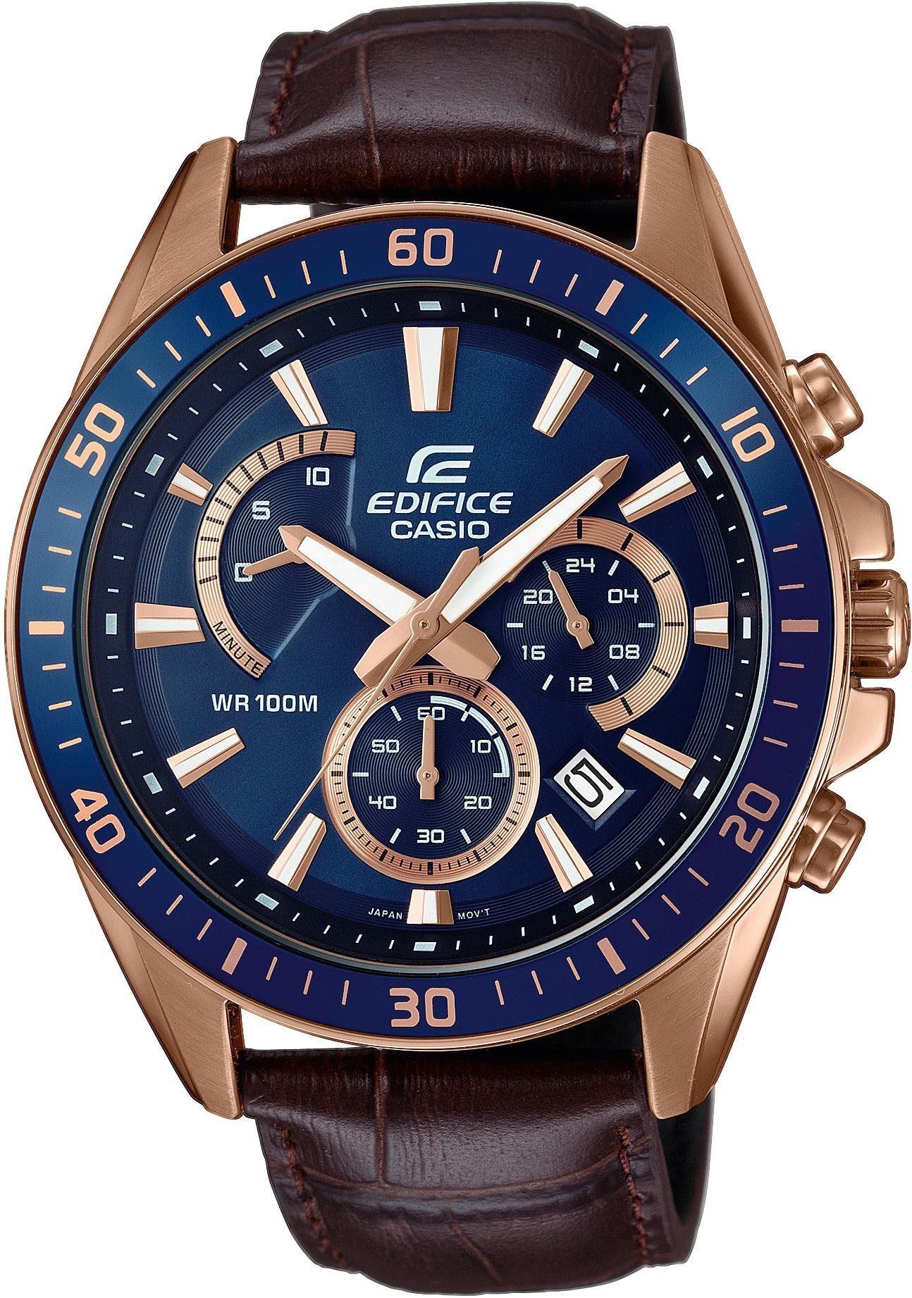 CASIO EDIFICE Chronograph »EFR-552GL-2AVUEF«
